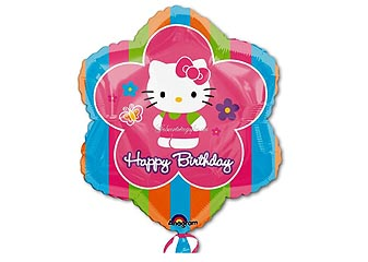 Hello Kitty Folienballon, Hellokitty Ballon als Geschenk